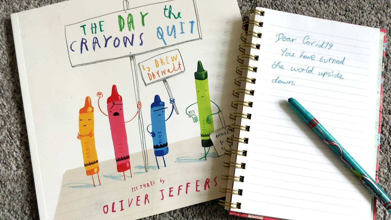 Book of The Day the Crayons Quit