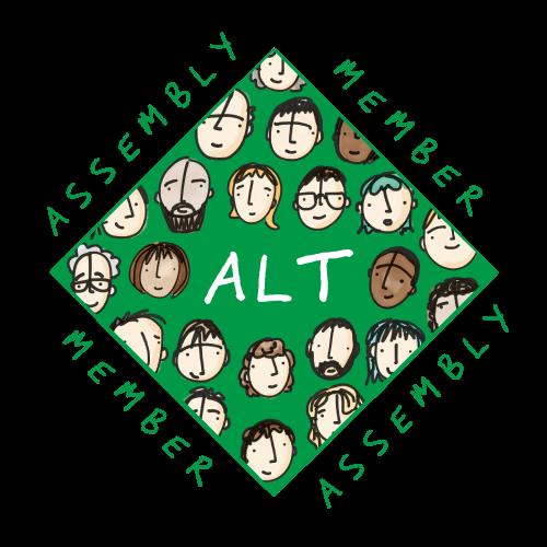ALT Assembly badge
